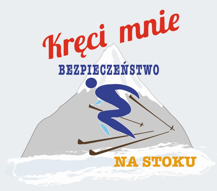 Logo akcji Kręci mnie bezpieczeństwo na stoku