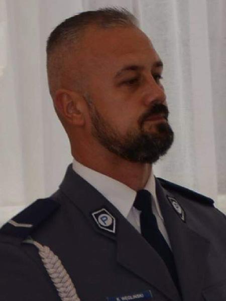 mł. asp. Krzysztof Węgliński