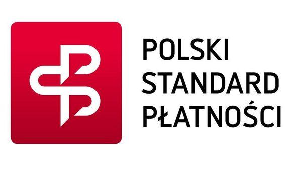 Logo z napisem Polski Standard Płatności