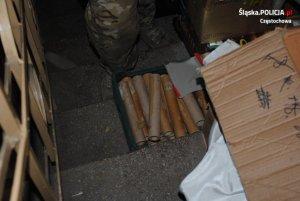 zabezpieczone materiały wybuchowe