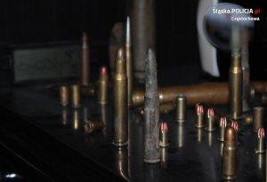 zabezpieczona amunicja