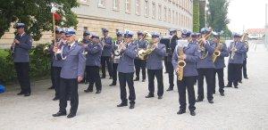 orkiestra reprezentacyjna Policji we Wrocławiu