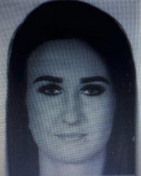 Zdjęcie poszukiwanej kobiety.