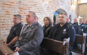 W kościele z 1412 roku odbyła się msza za policjantów