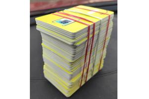 Zabezpieczone karty SIM wykorzystywane przez sprawców